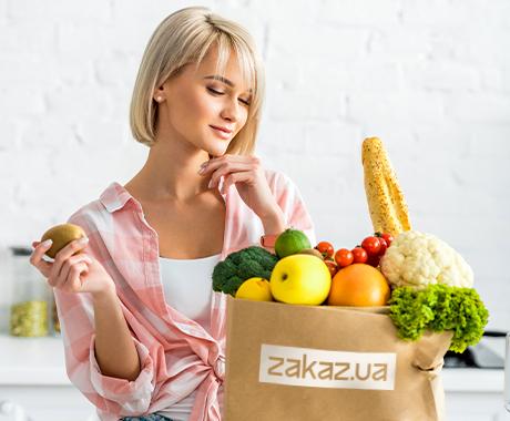 Знижка 89 грн на доставку товарів від Zakaz.ua