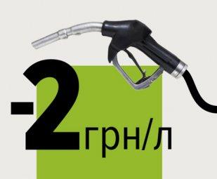 Економте 2 грн/л на бензині/ДП